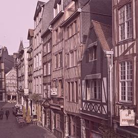 Centre ville de Rouen