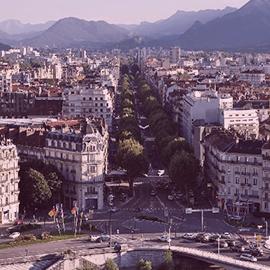 Vue de la Bastille Grenoble